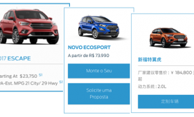 Ford Global UX Redesign